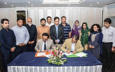 Nai Zindagi and Sindh AIDS Control Program sign MoU for establishment of CoPC+ site at Larkana