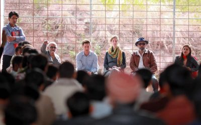 Mainline visits programs in Pakistan