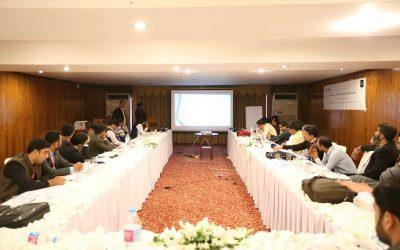 Workshop on Evidence Based Programming, Monitoring & Evaluation, Islamabad
