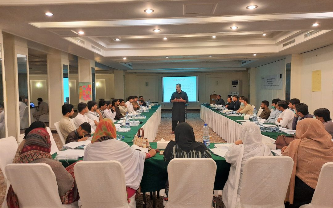 Training of project staff for the establishment of satellite CoPC+ sites in six districts of KP
