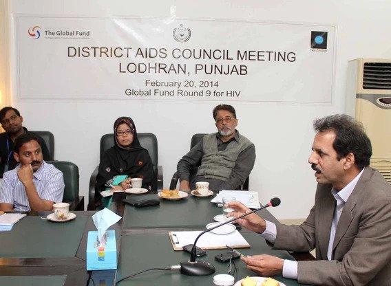 DAC, District AIDS Council Lodhran, Nai Zindagi, Nai Zindagi Trust, NZT