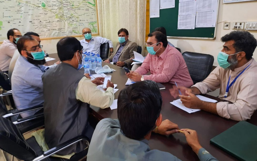 Country Coordinating Mechanism's Oversight Committee Visited CoPC+ sites Rawalpindi & Jhelum