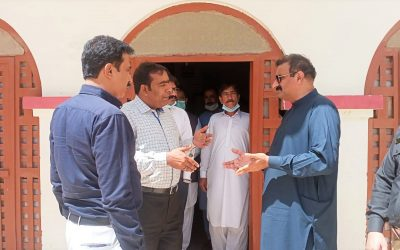 Inspect General Prisons Sindh Visits AAU Thatta