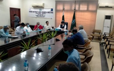 Third District AIDS Council Meeting in Faisalabad